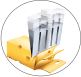 block processed cheese​